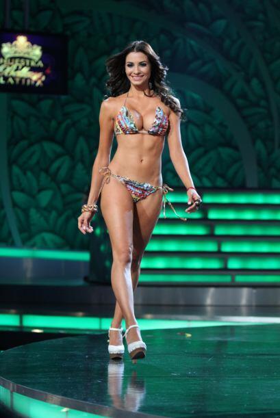 Patricia fue eliminada en la semifinal de la competencia.