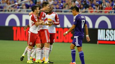 New York Red Bulls ganan como visitantes contra Orlando City