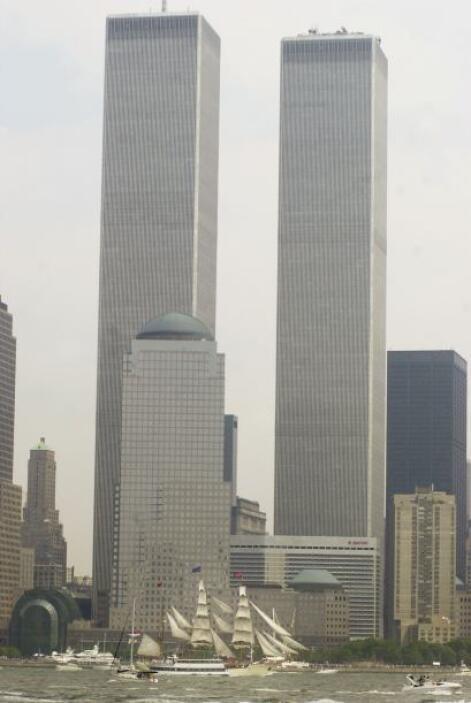 Las torres del World Trade Center eran el símbolo del capitalismo nortea...