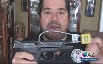 Prevención con armas de fuego, evita tragedias en casa