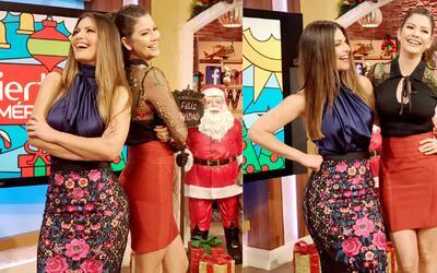 Detrás de cámaras: Chiqui y Ana Patricia hermanísimas ¿se parecen o no?