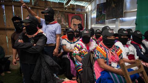"""Los zapatistas aseguraron que ante la época de los muros, """"no debe..."""