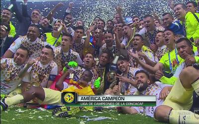 Así celebró el América el campeonato de la Liga de Campeones Concacaf