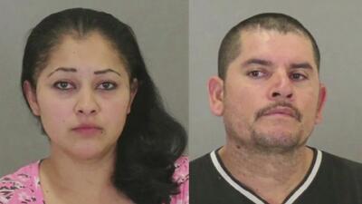 Padres hispanos mantenían a dos de sus hijos enjaulados