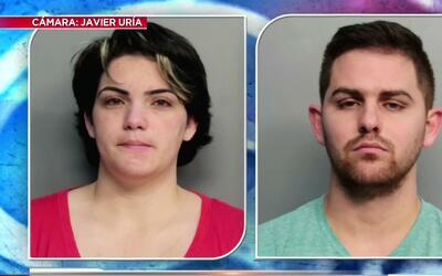Una pareja de Hialeah es acusada de maltratar a sus hijos de dos meses d...