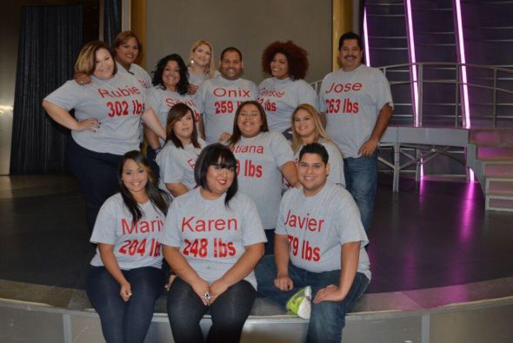 Participantes de Ritmo Dieta