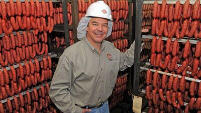 The Kiolbassa Provision Company now sells a variety of smoked sausages a...
