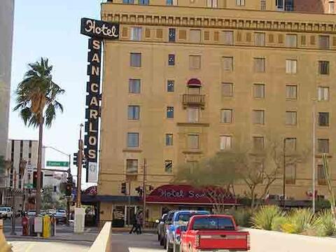 El Hotel San Carlos, en Phoenix, está embrujado, según relatan expertos...