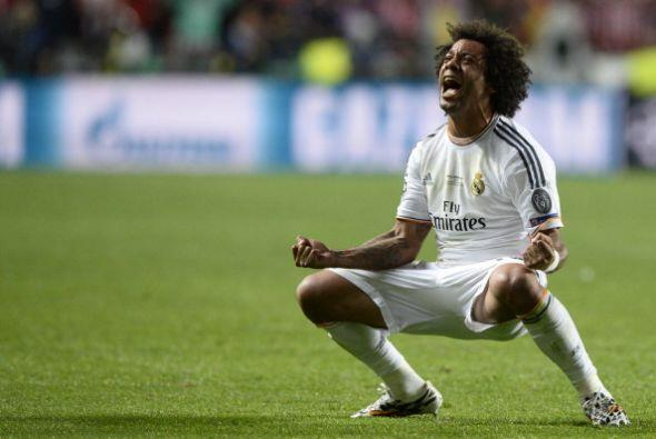 Marcelo sacó provcho del agotamiento rival para anotar el 3-1.