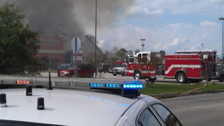Incendio en Garden Ridge