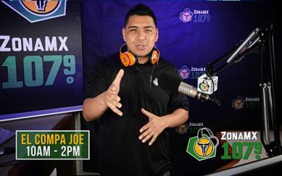 Zona MX 107.9: Toda la información en la radio local de Fresno  JOE2.jpg