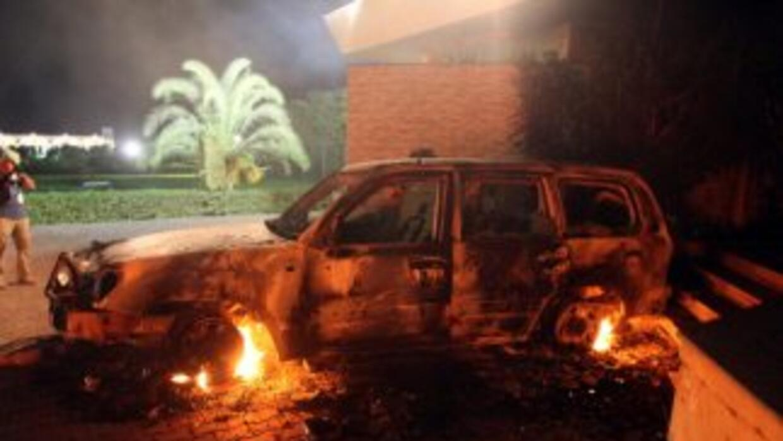 La sede diplomática en Bengasi fue atacada el 11 de septiembre de 2012,...