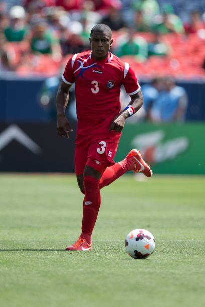 Harold Cummings.- El defensa panameño de 21 años, juega en la liga urugu...