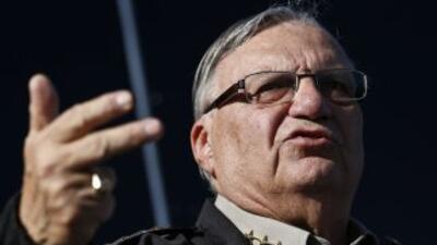 El alguacil Joe Arpaio.