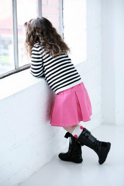 Con paso firme. Las botas para tu niña no deben ser las má...
