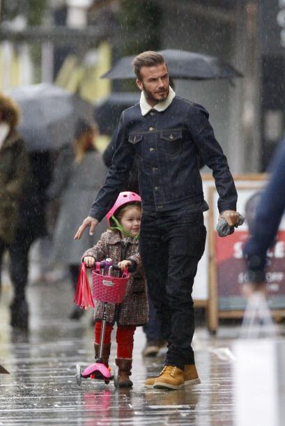 Aunque el típico clima londinense los traicionó...