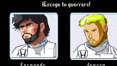 Los pilotos se convirtieron en personajes de videojuegos.