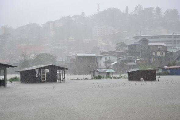 Filipinas es golpeada cada año por una veintena de tifones, en pr...