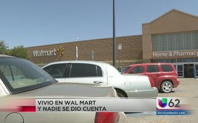Adolecente hizo del WalMart su hogar