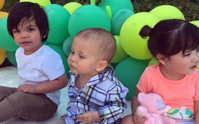 Baby Giulietta, Matteo cumpleaños Lucas