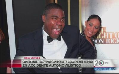 Tracy Morgan resulta gravemente herido en accidente vehicular