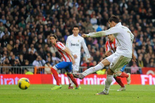 El portugués volvió a ejecutarlo con clase y marcó el 4 a 1 final.