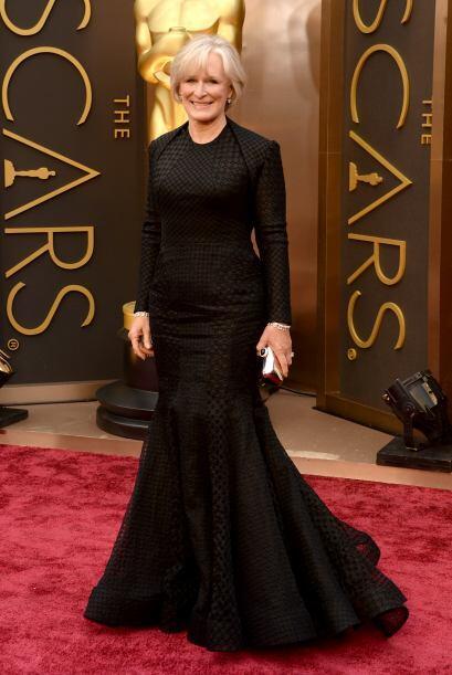 Tal vez se hubiera salvado un poco el vestido de Glenn Close, sino hubie...