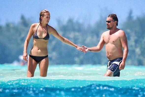 Leonardo llevó a su nueva novia, Toni Garrn, al paradisíaco Bora Bora. M...