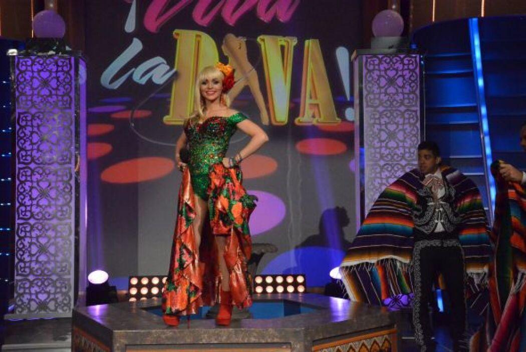 La segunda participante, lleva todo el orgullo mexicano en su sangre y r...
