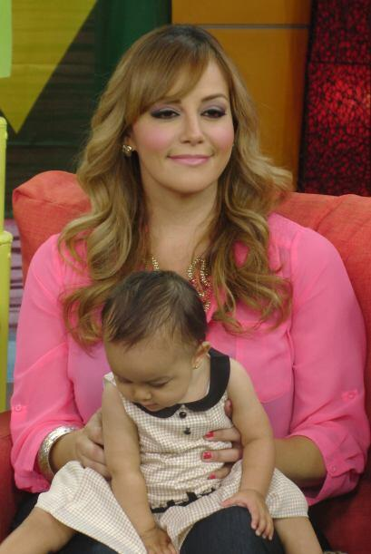 La hija menor de la Dinastía Rivera estuvo de visita en Despierta...