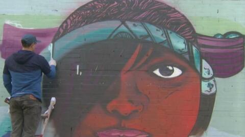 El graffiti, la máxima expresión de arte en el barrio La Villita