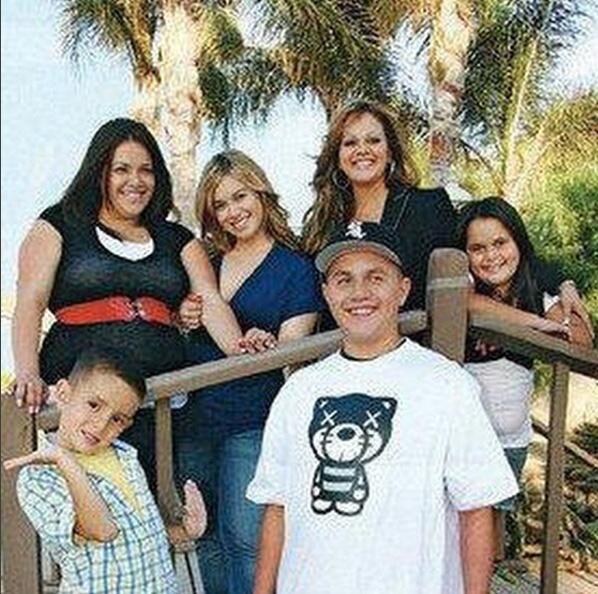 Jenni Rivera con sus hijos