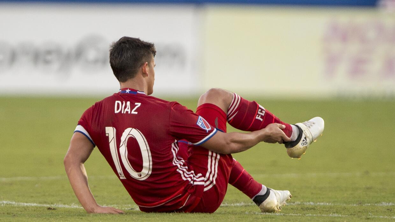 Mauro Díaz lesionado