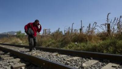 Cada año, unos veinte mil migrantes que pasan por México en su camino ha...