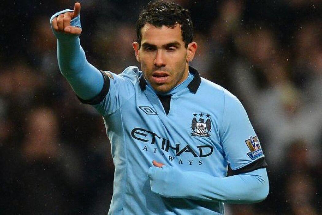 El 'Apache' marcó tres tantos en este duelo de la FA Cup.