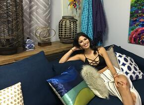 Essined Aponte, de Nuestra Belleza Latina a Televisa