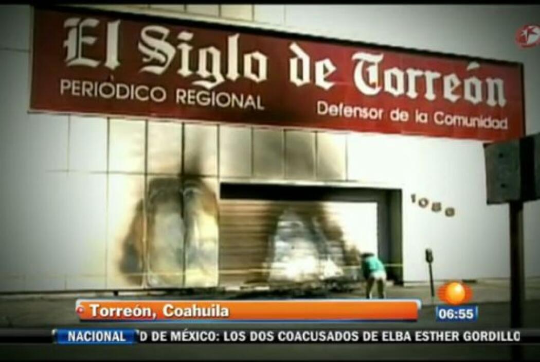 El grupo mexicano editorial Zócalo, que imprime diversos diarios en el n...
