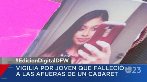 Realizan vigilia por la muerte a tiros de una joven