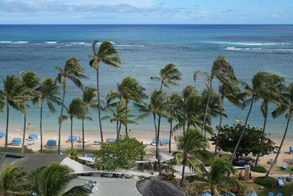 Esta era la vista que tenía Raúl hacia la playa.