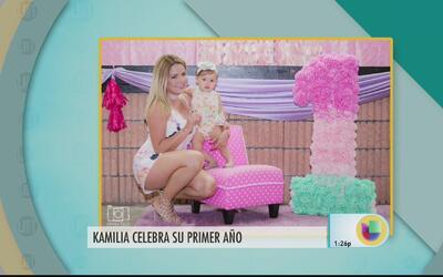 Gredmarie habla del cumpleaño de Kamilia