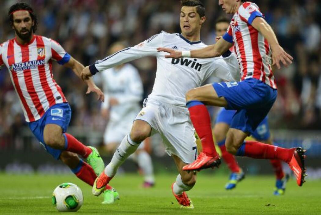 Cristiano Ronaldo empezó a ser protagonista y la principal pesadilla de...