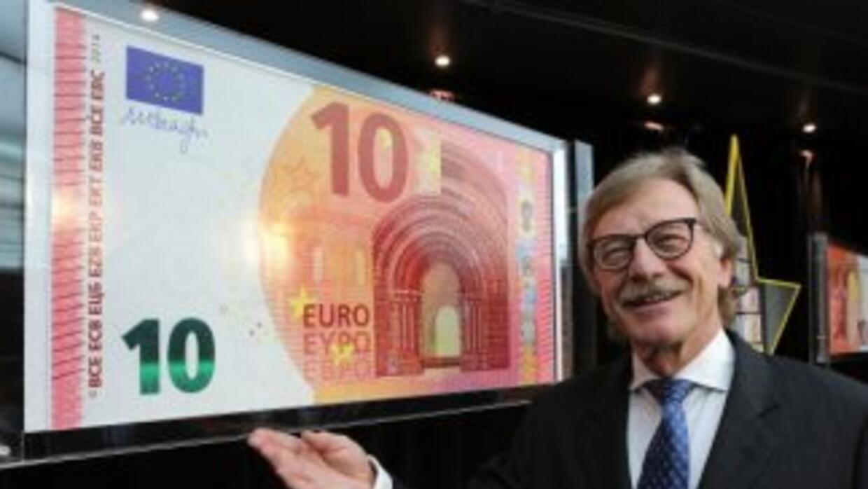El nuevo billete de 10 euros que entrará en circulación el 23 de septiem...