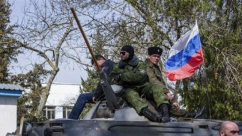 Las autoridades de Crimea pusieron en libertad al jefe de la Armada de U...