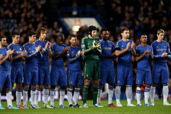 El conjunto 'Blue' recibía a Manchester City en Stamford Bridge con la i...