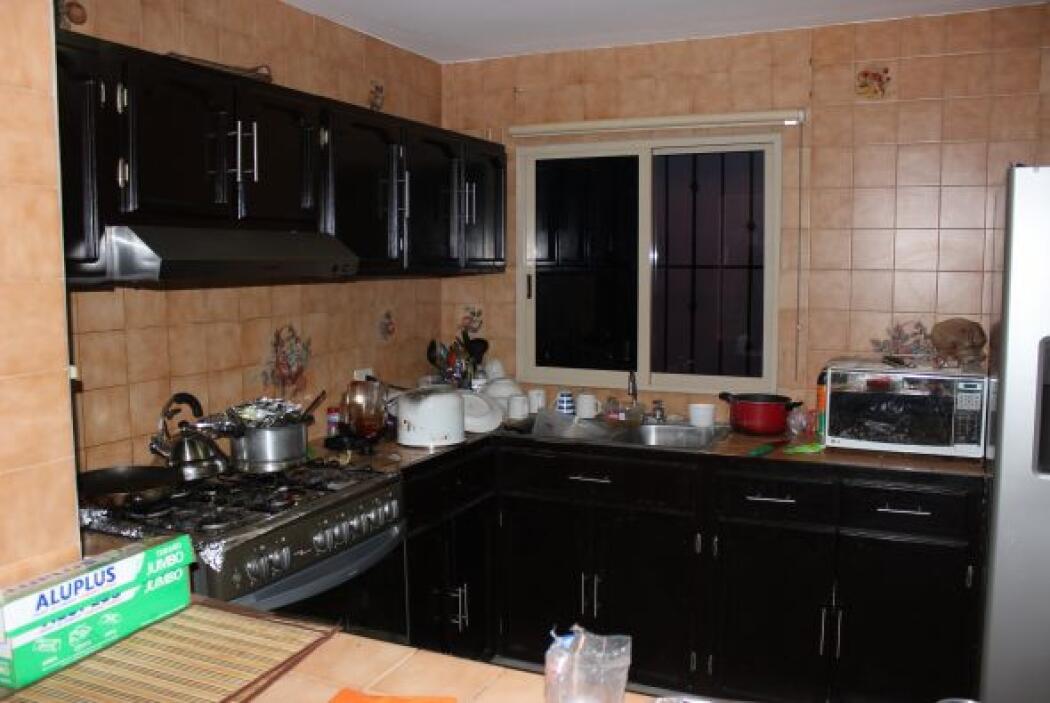 En otra de las propiedades había una olla con alimentos. Fotos: Miguel C...