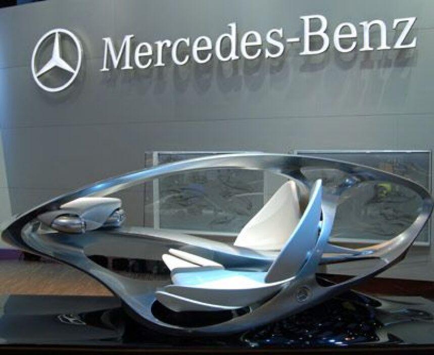 La visión del futuroAdemás de autos atractivos, Mercedes-Benz llevó la e...