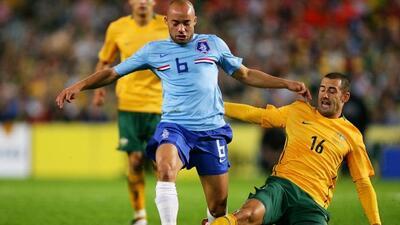 El holanadés jugó la Copa del Mundo de Sudáfrica 2010.
