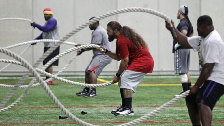Arrancan los entrenamientos voluntarios en la NFL (AP-NFL).