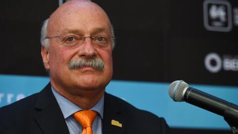 Enrique Bonilla, presidente de la Liga MX.