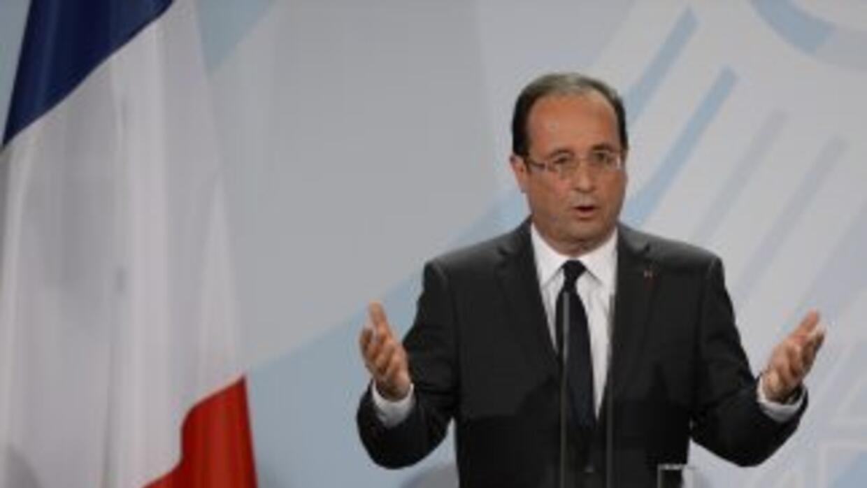 El presidente de Francia, Francois Hollande.